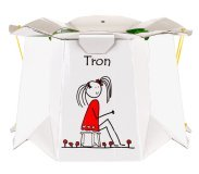 Pot jetable et pliable TRON