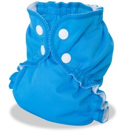 Couche lavable APPLECHEEKS STE LUCIE TURQUOISE - Multi-taille