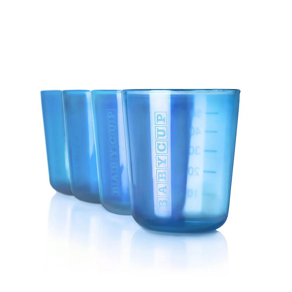 Premières tasses - Lot de 4 - Bleu