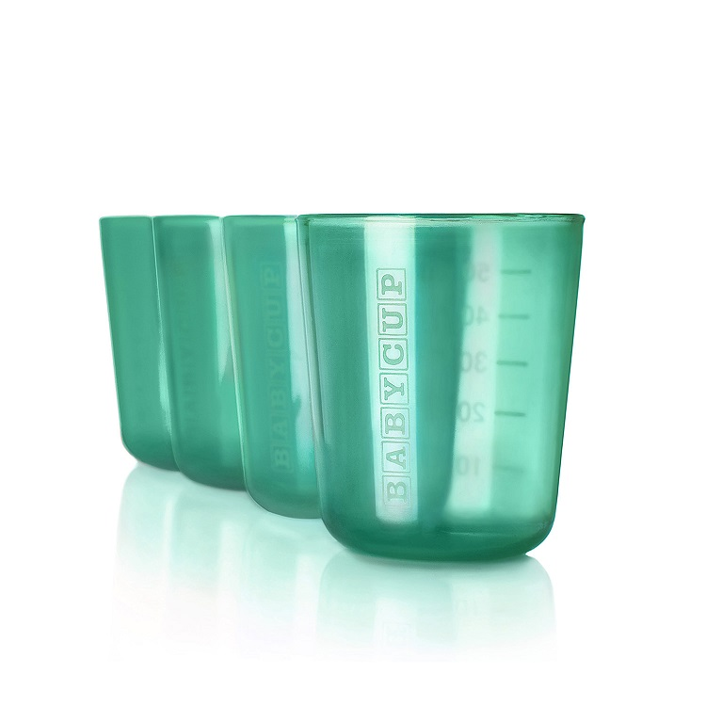 Premières tasses - Lot de 4 - Vert