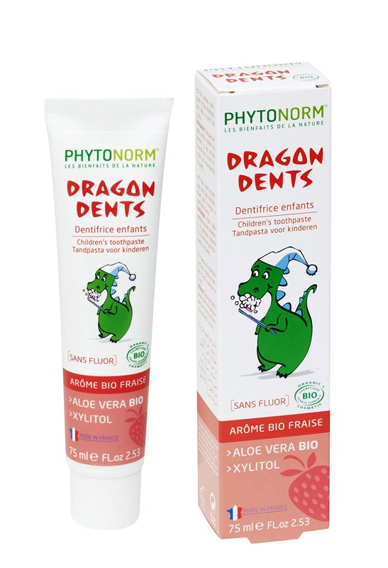 Dentifrice Dragondents Fraise PHYTONORM