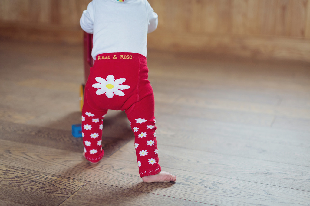 Leggings BLADE & ROSE Red Daisy