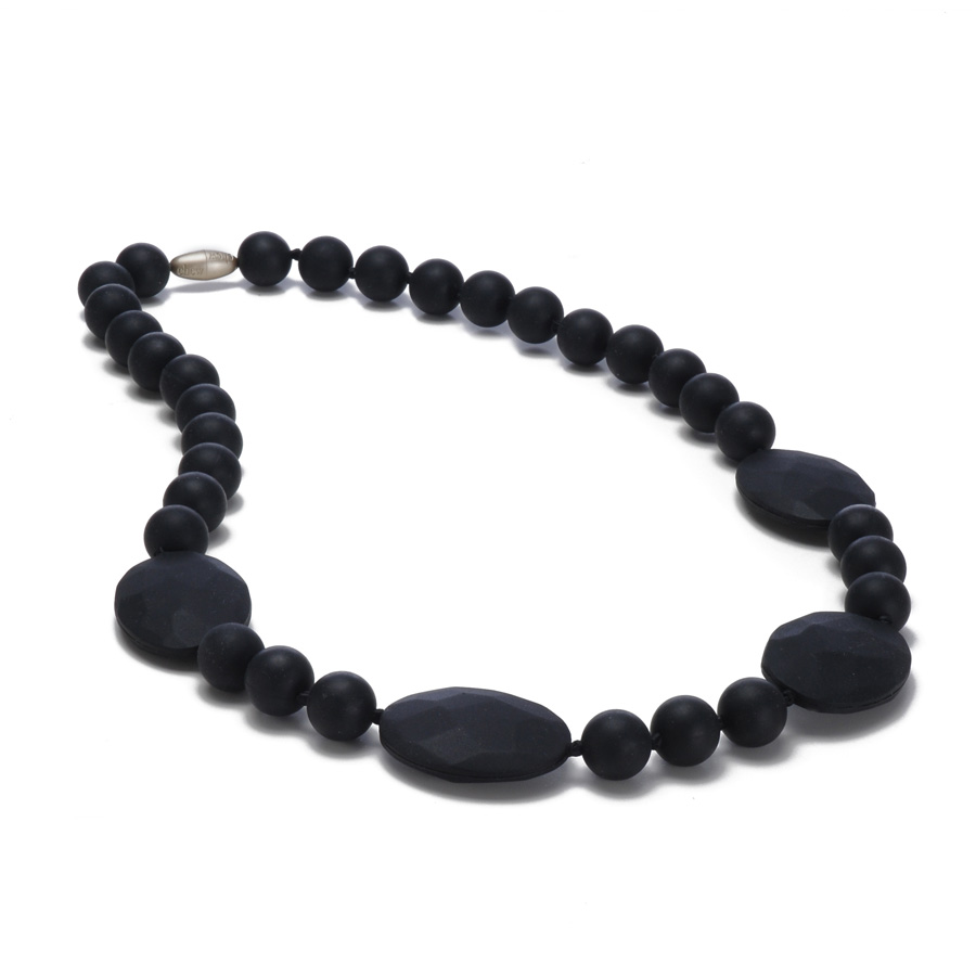 Collier de dentition Perry Noir Chewbeads