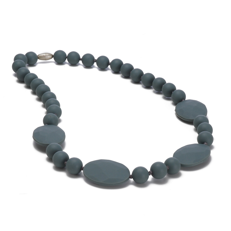 Collier de dentition Perry Gris Chewbeads