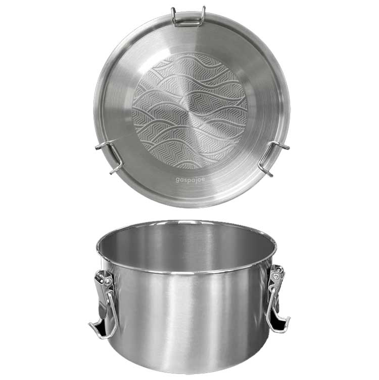 Lunch box inox Drummy 1100 ml Onde