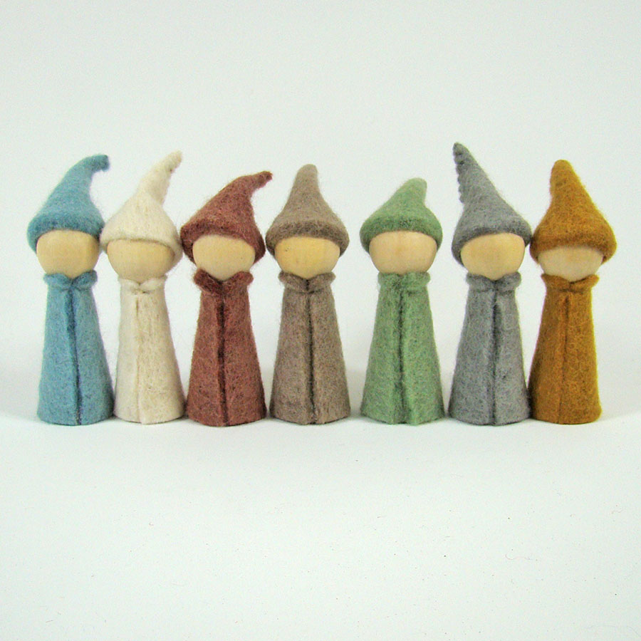 Gnomes Earth - set de 7