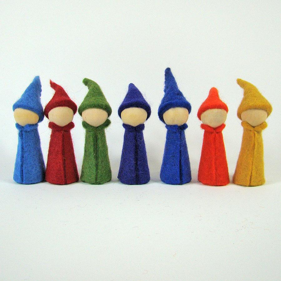 Gnomes Rainbow - set de 7