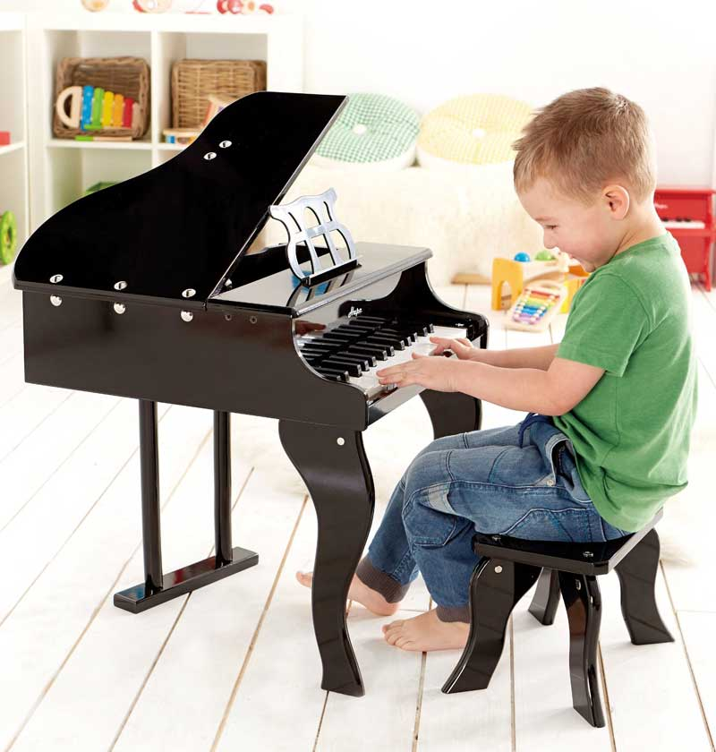 Piano à queue HAPE Noir E0320