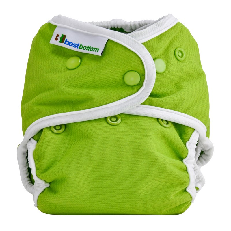 Couche lavable TE2 Taille Unique pressions BEST BOTTOM - Key Lime Pie