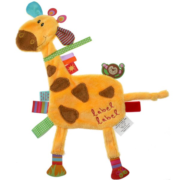 Doudou étiquettes Friends Girafe LABEL LABEL