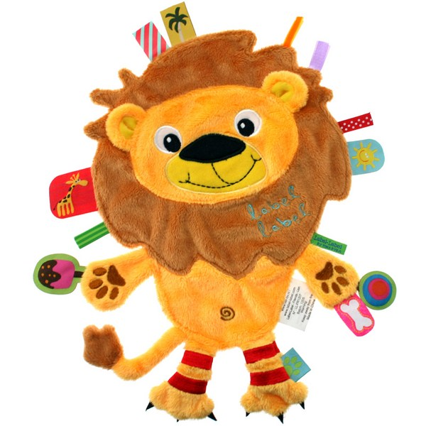 Doudou �tiquettes Friends Lion LABEL LABEL