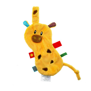 Doudou attache sucette Friends Girafe LABEL LABEL