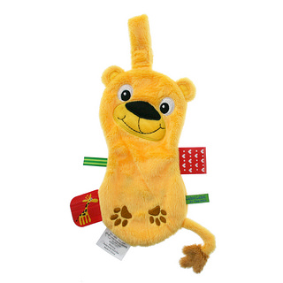 Doudou attache sucette Friends Lion LABEL LABEL