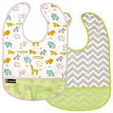 Lot de 2 Bavoirs Kushies 12-36 mois Green