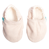 Chaussons souples bébé collection Lin Nature TITOT