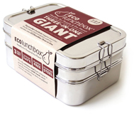 Lunch Box Inox 3 en 1 géante