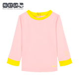 Tee-shirt anti UV Pink/Yellow 12 mois KI&LA