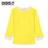 Tee-shirt anti UV Yellow/White 12 mois KI&LA