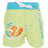 Maillot couche Short SWIM+ Ecureuil Anis PIWAPEE