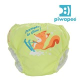 Maillot couche SWIM+ B�b� nageur PIWAPEE Ecureuil Anis