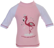 Top Anti UV et Anti sable Flamingo Rose poudré PIWAPEE