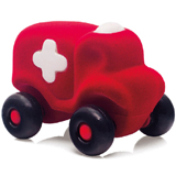 Micro véhicule Ambulance Rouge