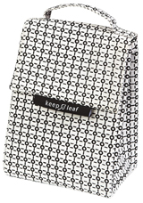 Lunch Bag isotherme en coton bio - Black And White