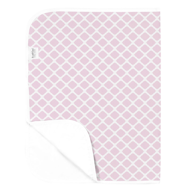 Tapis imperméable KUSHIES Lattice Pink