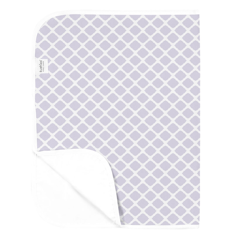 Tapis nomade imperméable Lattice Lilac