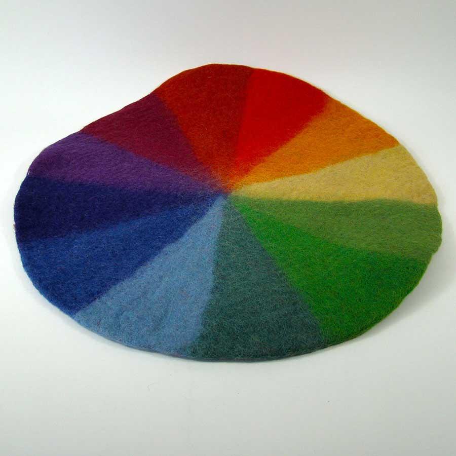 Tapis en laine feutrée Goethe - 50 cm