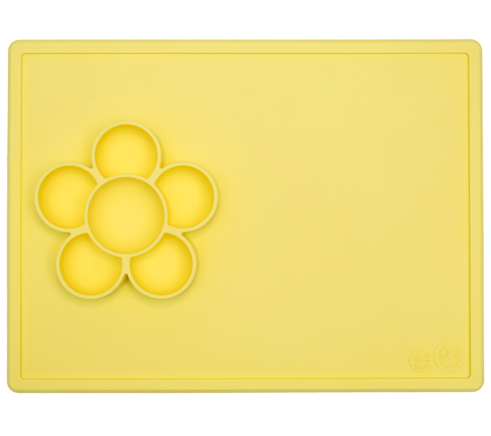 Set de table - Assiette Antidérapante PLAY Mat CITRON EZPZ