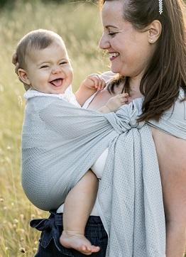 2839bd31a1e2 Echarpe de portage et Porte bébé pour maman - Maman Natur elle