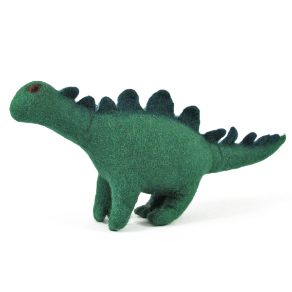 Monde des Dinosaures en laine feutrée - Rufus le dinosaure