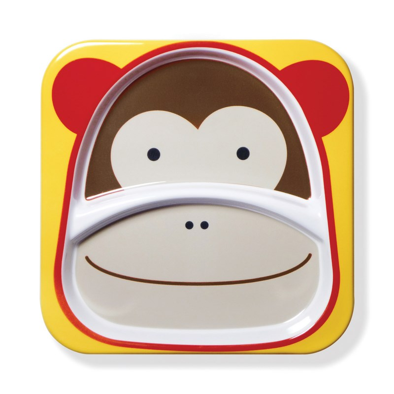 Assiette � compartiments Singe SKIP HOP