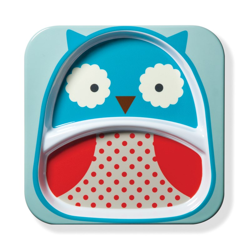 Assiette � compartiments Hibou SKIP HOP