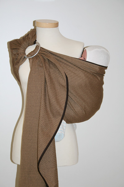 Ring Sling LEO CAFE STORCHENWIEGE