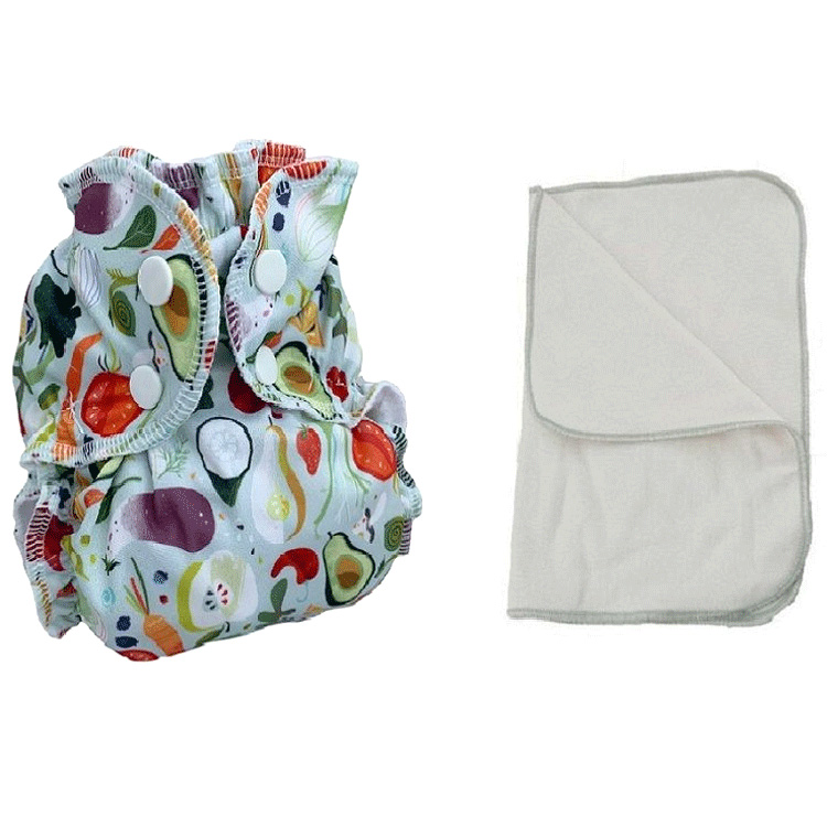 Kit couche lavable  - ENFANT - Taille 3 (14-30kg) -  Turning The Beet