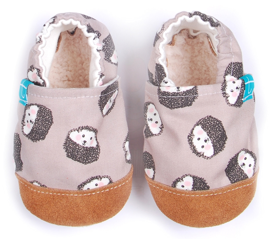 Chaussons souples bébé Mr Hedgehoge TITOT
