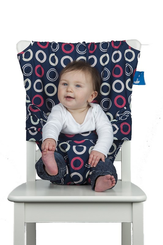 Chaise Nomade bébé TOTSEAT Blueberry