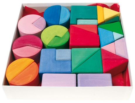 Set de 30 blocs de construction