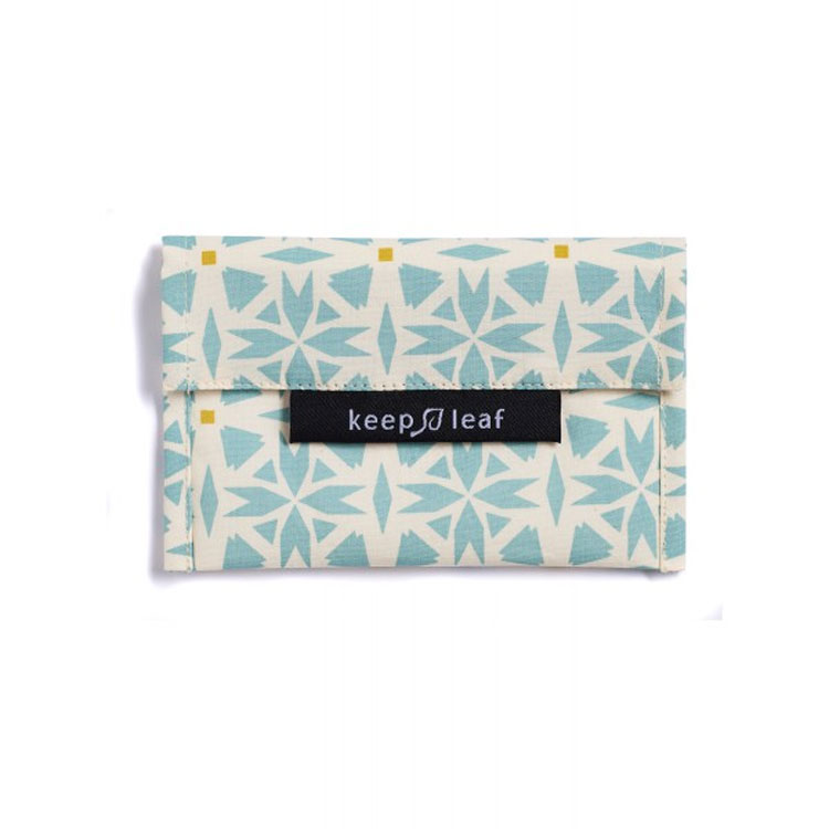 Mini pochette lavable - Géo KEEP LEAF