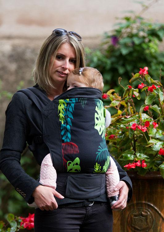 Porte Bébé BOBA G Coton SERIE EXCLUSIVE FRANCE Jungle Maman Natur - Boba porte bébé