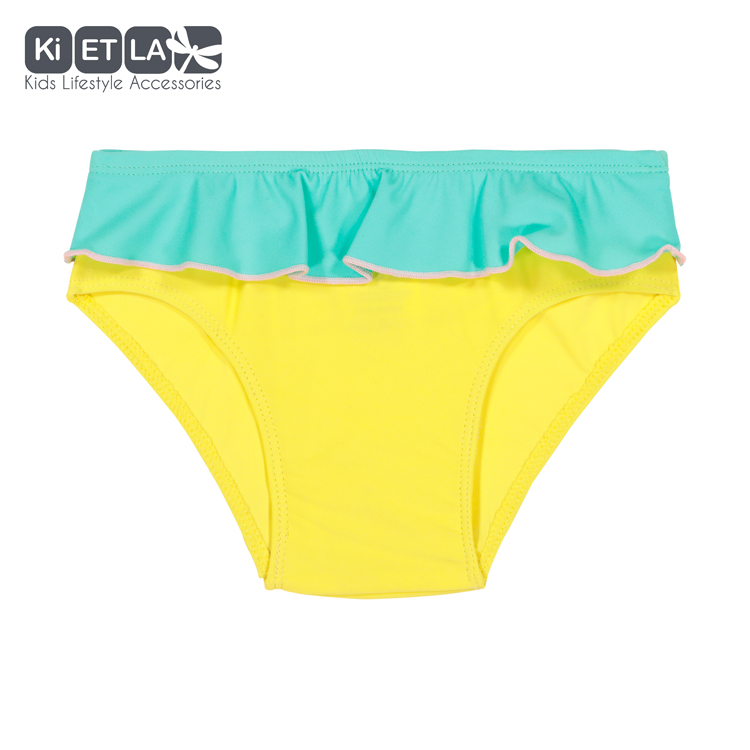 Maillot de bain anti-Uv Yellow Green 6 mois