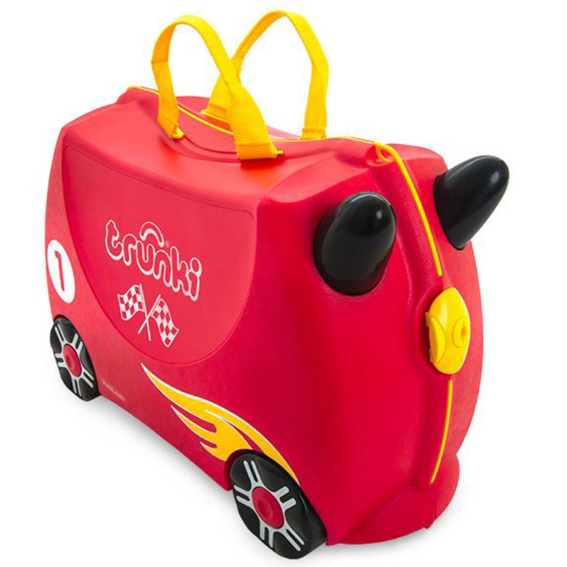 Valise TRUNKI Rocco the Race car