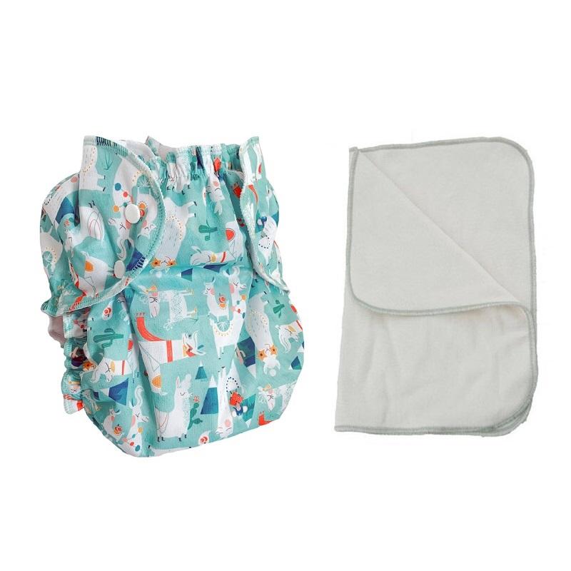 Kit couche lavable  - ENFANT - Taille 3 (14-30kg) -  Lama Nation