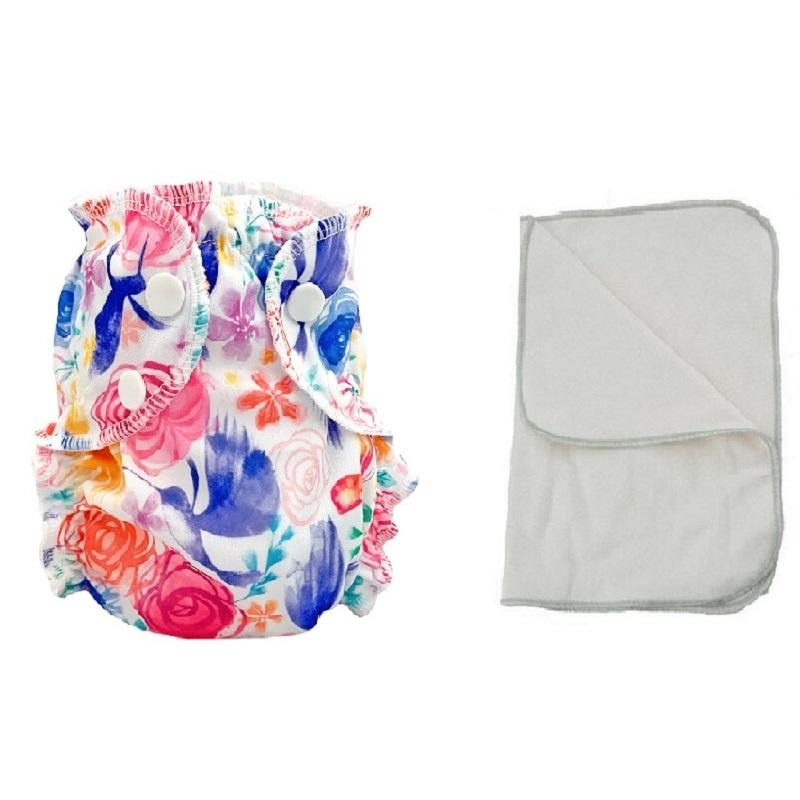 Kit couche lavable  - ENFANT - Taille 3 (14-30kg) -  Petal Faster