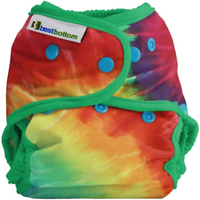 Couche lavable TE2 Taille Unique pressions BEST BOTTOM - Totally Tie Die