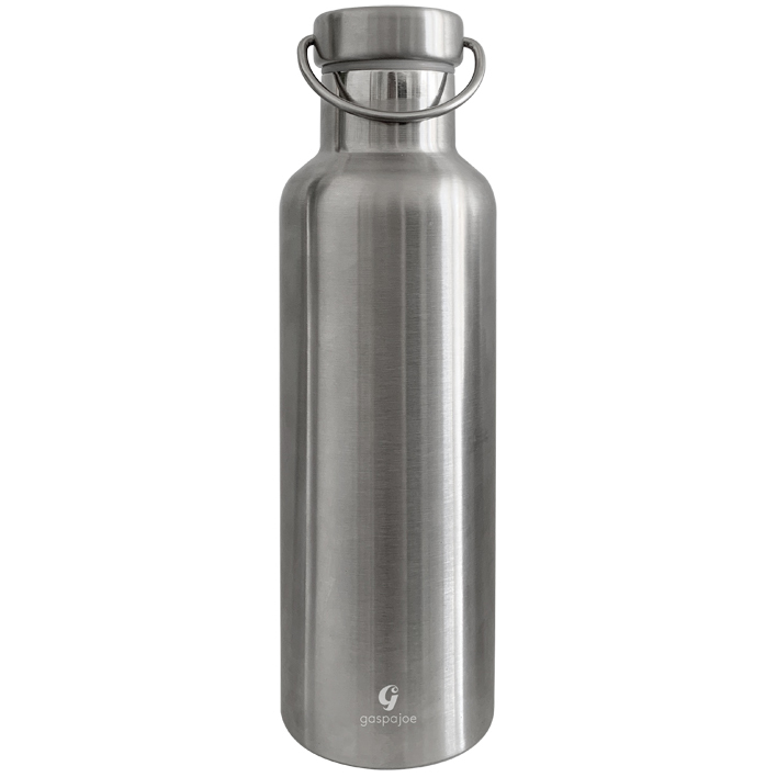 Gourde en inox 750 ml collection Groovy gravée Gaspajoe