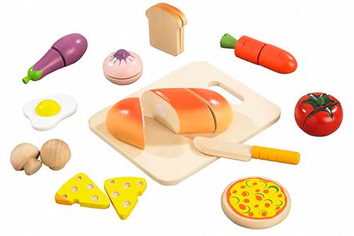 Cuisine hape aliments et accessoires dinette en bois pas - Ustensile de cuisine pour enfants ...