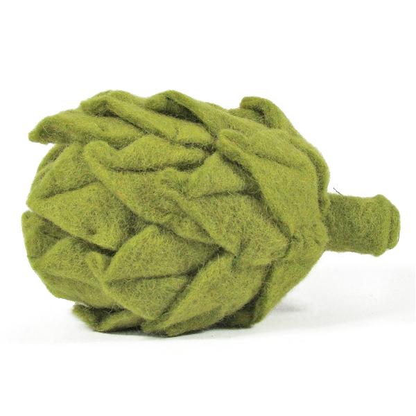 Légume en laine feutrée - Artichaut